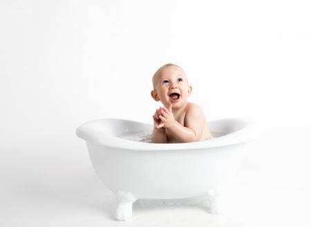 Bada säkert med en bra badblöja.