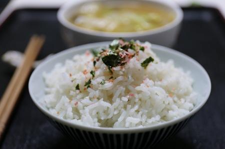 Gott ris med en riskokare