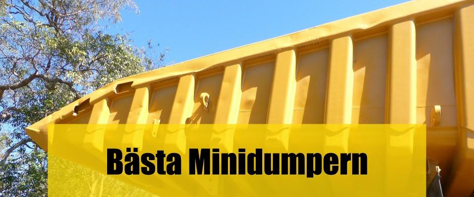 Bäst minidumper