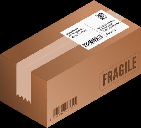 Ett paket till paketpostlådan