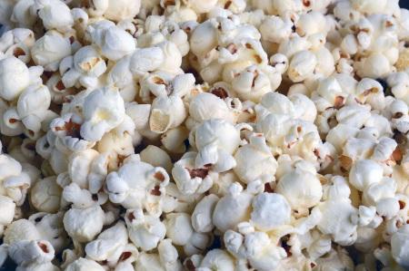 Popcorn är supergott