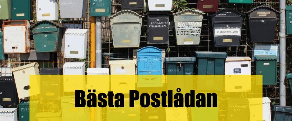 Bäst postlåda