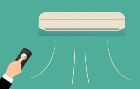 Platser där AC kan behövas