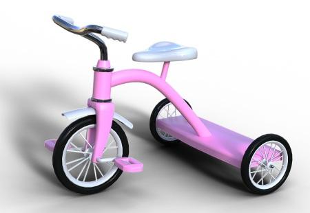 En riktigt cool trehjuling för barn
