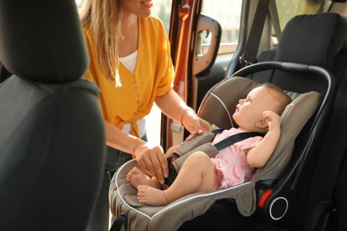Olika tillbehör till babyskyddet