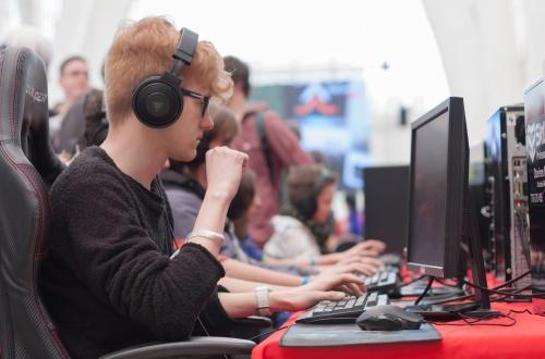 Ergonomisk gamingstol