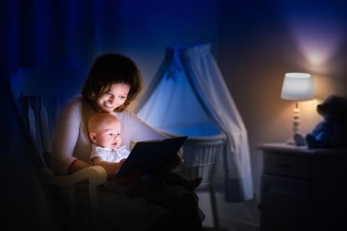 Nattlampor framtagna för barn