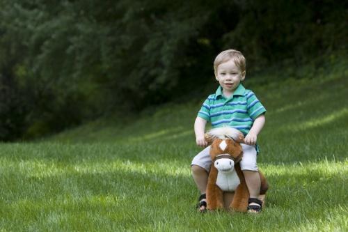 Ponycycle - för barn som verkligen älskar hästar.