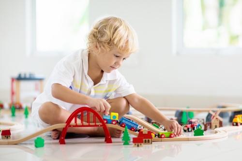 Andra tågbanor till barn