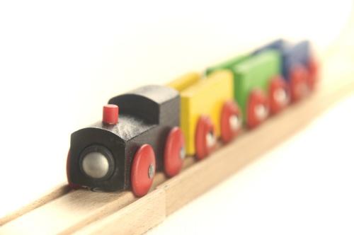 Toppen att leka med en tågbana
