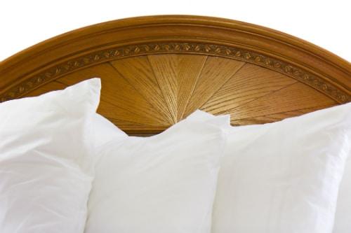 Att finna en annorlunda gavel till sängen.