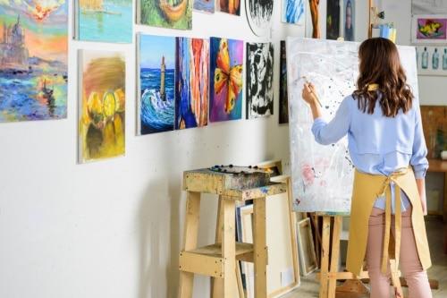 Att välja storlek på din canvastavla