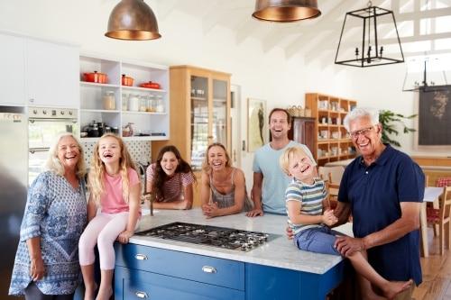 En köksö som arbetsyta eller till matlagning?
