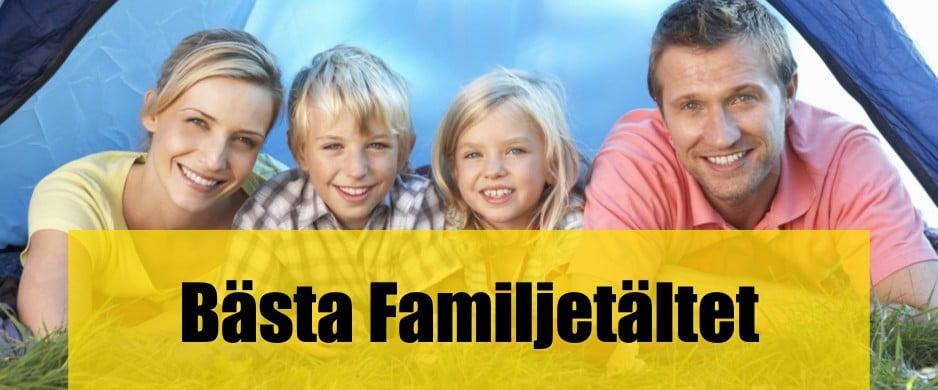 Bäst Familjetält