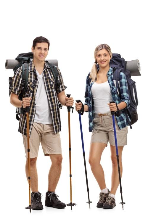 Fördelar med vandringsstavar