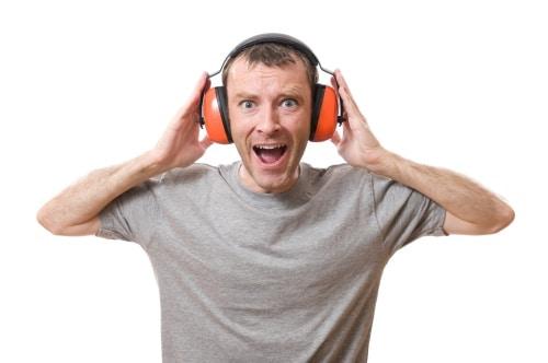 Då behövs hörselskydd