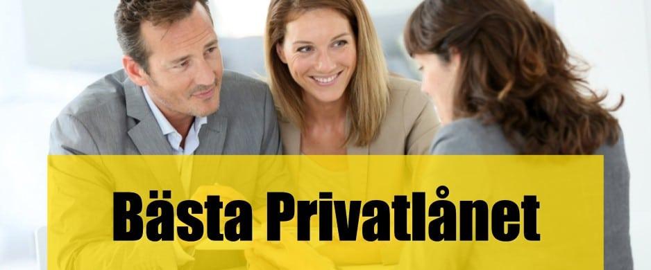 Bäst privatlån