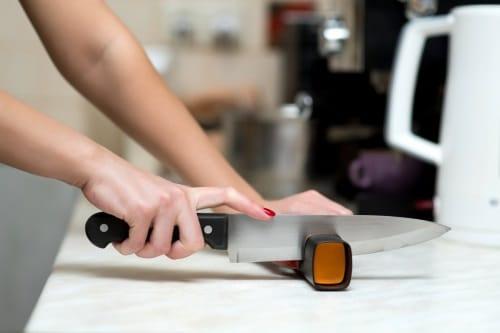 Knivslipar för hemmabruk