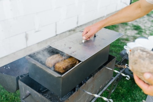 Egen röklåda till grillen