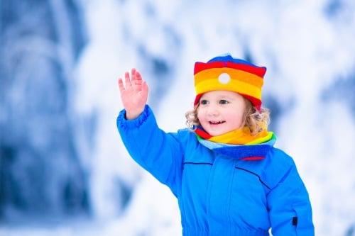 En snösläde är rätt verktyg för en effektiv snöröjning.