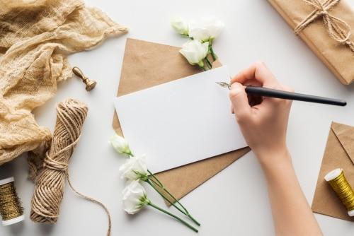 Att skriva grattis dopkort - texter, dikter och citat.