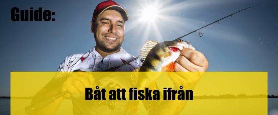Båt att fiska ifrån