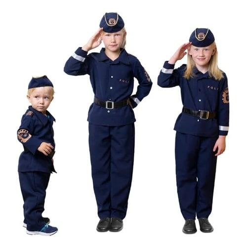 Polisdräkter för barn