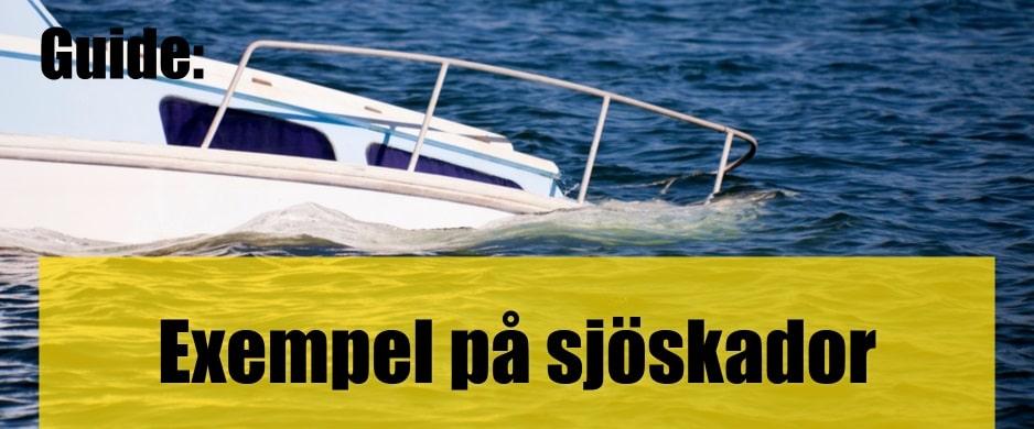 Exempel på sjöskador och hur man minskar risken att drabbas