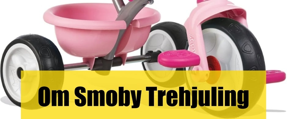 Smoby trehjuling