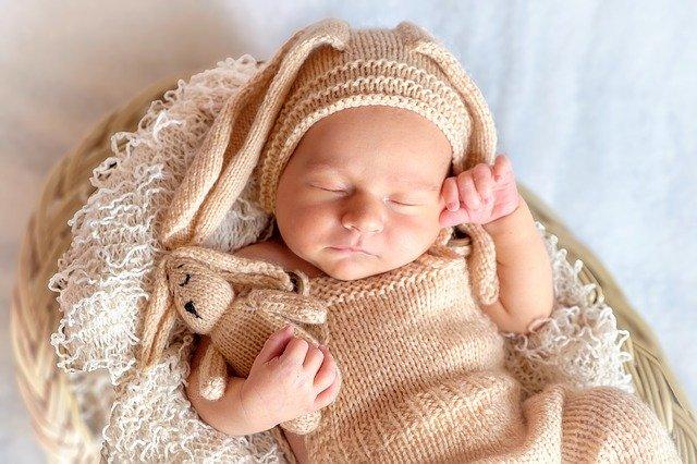 Sovande baby