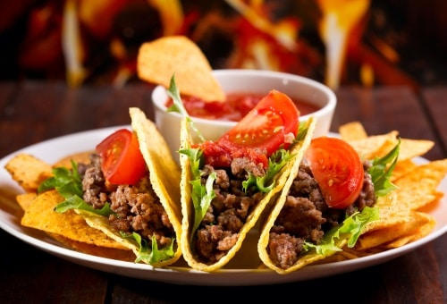 Tips är att gör tacosen mildare