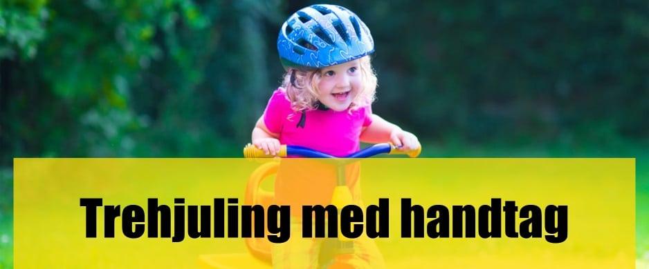 Bäst Trehjuling med handtag