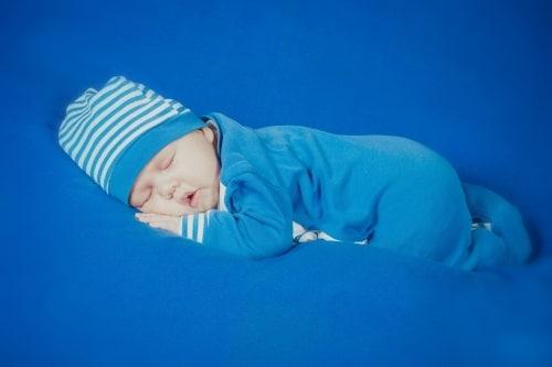 Bästa stället att bebisar att sova på.