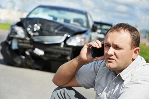Vad ska jag göra om jag blivit påkörd med bilen?