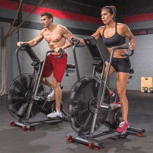 Bra träning med assault airbike´s