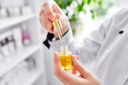 Arganolja är mycket effektivt mot torr hud.