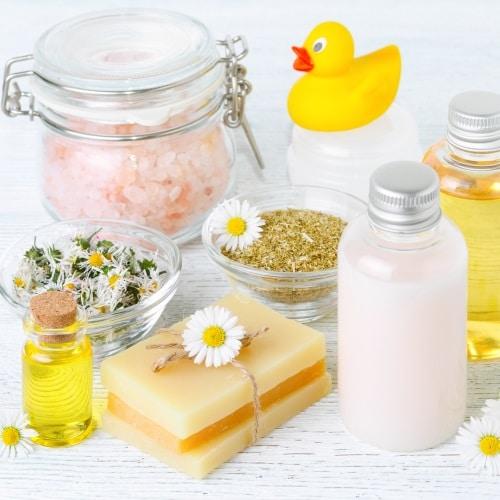 Populära ingredienser i badoljor