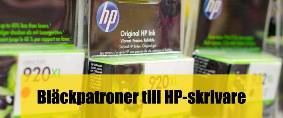 Bäst HP Bläckpatroner