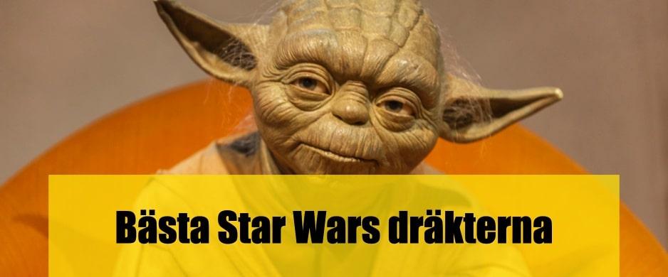 Bäst Star Wars dräkter