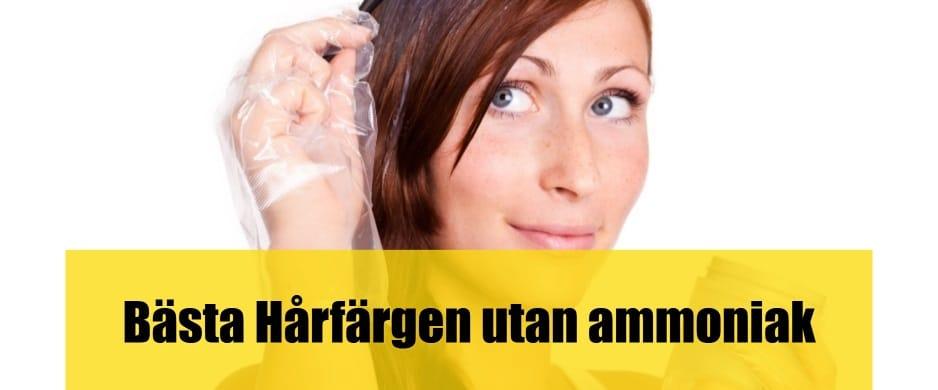 Bäst Hårfärg utan ammoniak