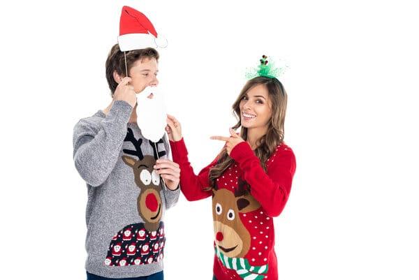 Jultröjor för herr och dam