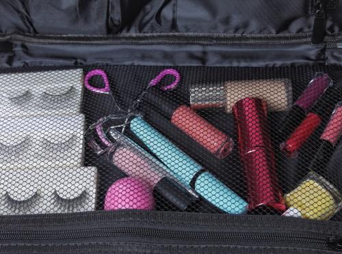 sortera och organisera dina sminkprodukter.