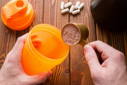 Utmärkande för kaseinprotein