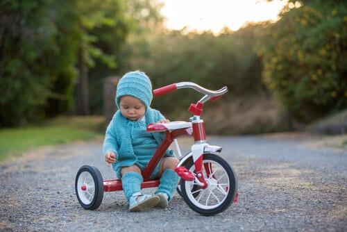 Upplev lyckan med en egen trehjuling.