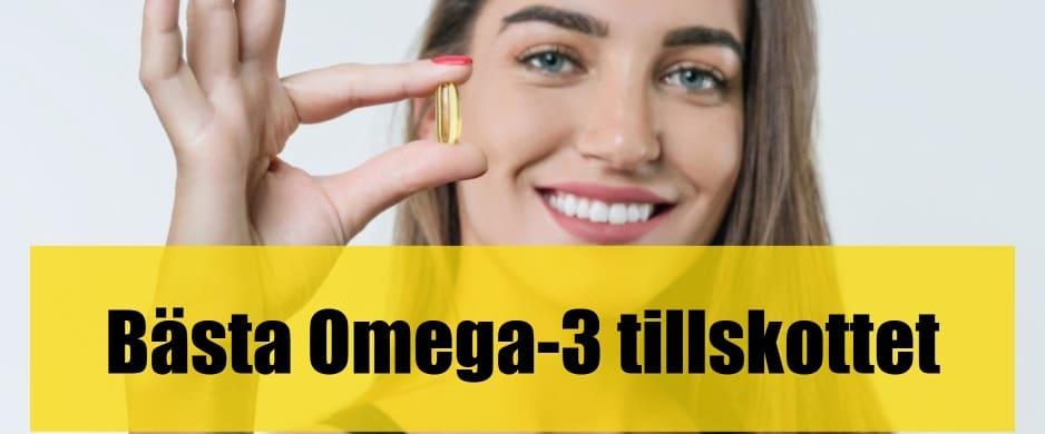 Bäst omega-3-tillskott