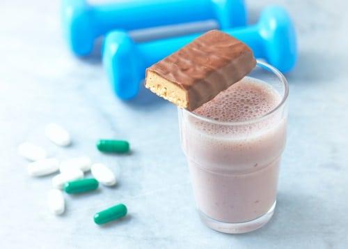 Mängden protein per bar