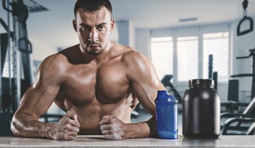 Proteinpulver - Gynnsamt för den som tränar.