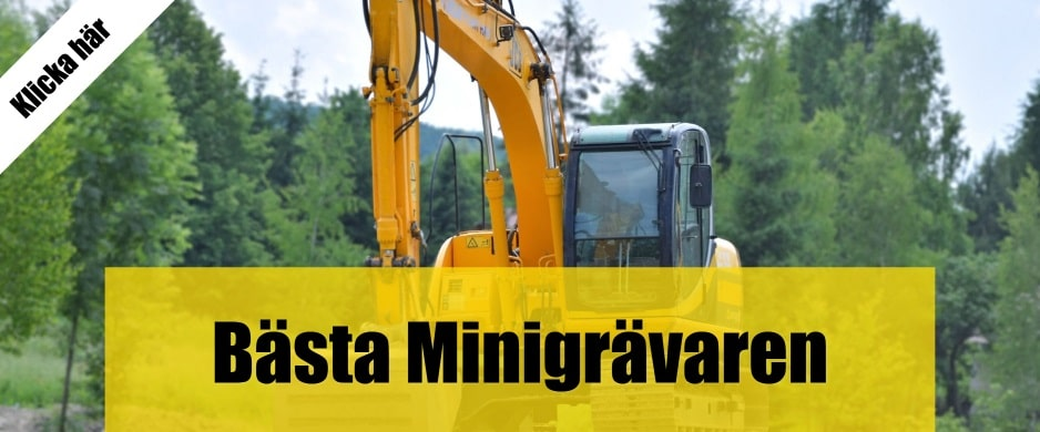 Bäst minigrävare