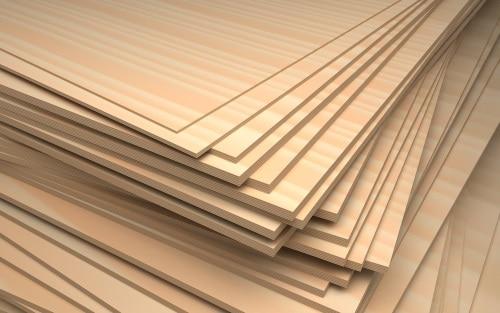 Olika sorters plywood