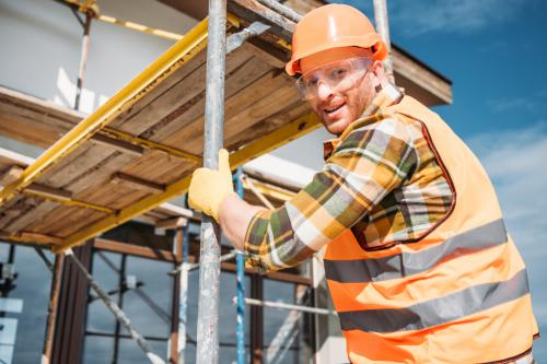 Projekt där en bra byggnadsställning kan vara till nytta